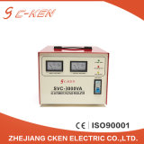 Cken Electrical AC Automatic SVC 3000va High Precision 3000W Voltage Stabilizer