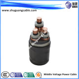 Medium Voltage/XLPE Insulated/PVC Sheathed/ Power Cable 20kv