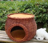 (BC-PK1007) High Quality Handmade Willow Pet Kennel