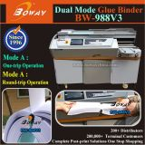 7 Inch Touch Screen A3 A2 600 Sheets Automatic Measure Hot Melt Glue Book Binding Machine Price
