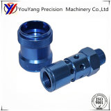 Customized Anodized Aluminum Precision Turning Machining, Industrial Valve