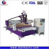 China Aluminum Acrylic Cutting 1325 Atc Wood CNC Router Machine Price