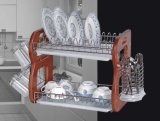 Dish Rack with Wooden Side Jp-Drtb15-1