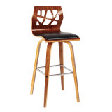 Modern Wooden Look Hotel Banquet High Bar Chair (FS-WB1709)