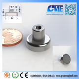 Strong N40 D15.875xh13mm High Quality NdFeB Potn08 Magnet