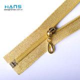 Hans Cheap Promotional Wholesale Multicolor Gold Zipper