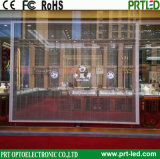 Customized Full Color Transparent LED Display Panel for Commercial Advertising (shop window)