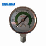 Pressure Gauge (ISO 9001 manufacturer) Ga24s Glass Rotameter Hydraulic Flow Controls