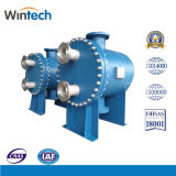 Round Plate and Shell Heat Exchanger with High Temperature and High Pressure