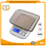 Multi-Functional Digital Electronic Kitchen Scale Household Flat Mini Jewelry High-Precision Electronic Scale