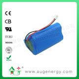 7.4 5200mAh 18650 Rechargeable Lithium Ion Battery Pack