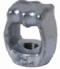 Electric Power Fittings Double Thimble Eye Nut