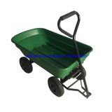 Garden Tipping Cart-50L, with Plastic Tray