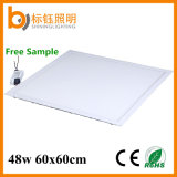 48W 600*600 mm 595*595 Mmultra Thin LED Panel Light with Ce RoHS PF>0.9