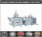 Semi automatic plastic thermoforming machine system