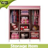 Multilayer Bear Heavy Items Designer Fabric Bedroom Wardrobe