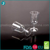 Clear/Transparent Color Plastic PS Disposable Party Wine Glass