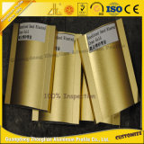 High Quality Aluminium Alloy Sand Blasted Magnate Gold