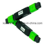 MPO MTP Feber Optik Attenuator with Green Jacket for CATV Use