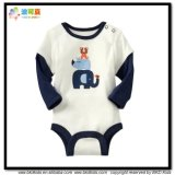 Animal Printing Baby Garment Round Neck Toddlers Bodysuits