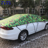 Car Decoration Camouflage Silver 3 Layer Hail Protection Anti Snow Anti Ice Fast Padded Half Auto Car Cover