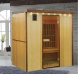 Factory Direct Red Cedar 4 Person Indoor Far Infrared Sauna