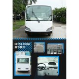 Eco Friendly Best Price Sightseeing Bus Electric Shuttle Car Bus