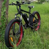 "26"" Fat Tyre Mountain Electric Bicycle with 21 Gears"