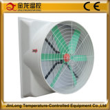 Jinlong 54 Inch Wall/Window Mounted Big Airflow Fiberglass Cone Tpye Exhaust Fan with Ce Certificate