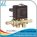 ISO9001 Direct Manufacturer AC110V 8mm Nipple Gas Solenoid Valve