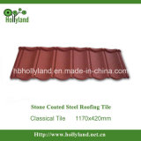 Colorful Stone Coated Steel Roofing Tile (Classical Tile)