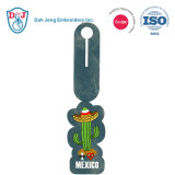 Embroidery Luggage Tag/ ID Card Holder- I Love Mexico
