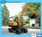 Chinese Manufactory Small Wheel Digger Hydro Excavator
