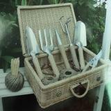 Wooden Handle Stainless Steel Garden Tool Set (BL228)