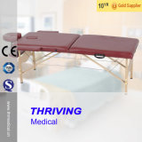Thr-Wt003A Wooden Folding Massage Table