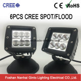 Cube 24W off Road Spot Flood 4X4 LED Work Light (GT1022-24W)