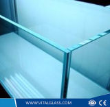 2-19mm Clear Reflective Plain Building Glass/Low Iron Glass/Clear Tempered Glass
