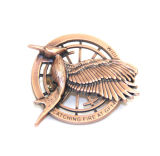 China Factory Lowest Price Promotional 3D Brass Lapel Pins