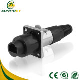 Low Frequency 5-15A Male to Female Terminal Block Waterproof Connector