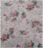 Polyester Chiffon Printed Embroidery Fabric for Women's Wear