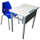 Combo School Desk and Chair, School Desk with Attached Chair, Modern School Desk and Chair