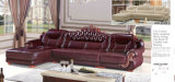 Hotel Lobby Furniture Custom Leather Sofa (A842)