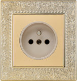 British Standard French-Style Wall Socket Flat (N4)