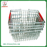 Factory Direct Zinc Plated Wire Shopping Basket (JT-G27)