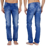 OEM Men Straight Fashion Jeans Blue Denim Jean Pants