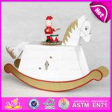 2015 New Item Hand Crank Music Box, Best Wooden Kid Horse Music Box, Music Instrument Carousel, Plating Carousel Music Box W07b019c
