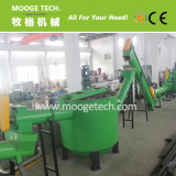 PE PP waste plastic bottle hot washer