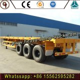 Container Transport Semi Trailer, Chassis Trailer Truck