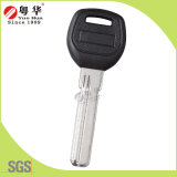 Black Plastic Head Brass Blade Baili Computer Key Blank for Door Lock with Customized Logo