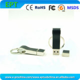 Customized Logo Leather Pen Drive Memory USB Flash Disk (ED017)